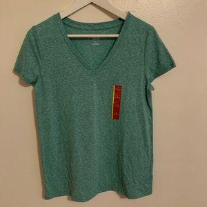 3/$20 Mossimo V-Neck Short Sleeve Teal T-Shirt